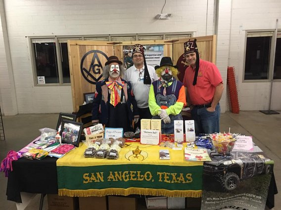 San Angelo Stock Show booth